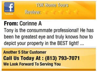 Real Estate Photographer Tampa Reviews Corinne